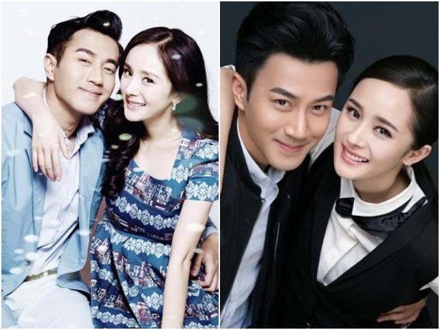 Trước khi ly hôn, Dương Mịch và Lưu Khải Uy từng diện đồ đôi tình bể bình thế này
