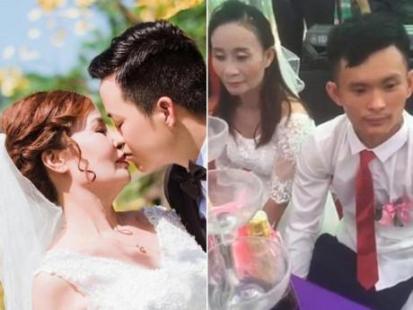 """Những chuyện tình """"lệch pha"""" tốn giấy mực nhất 2018: Cô dâu 62 tuổi bất ngờ thua xa người này!"""