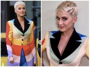 """Ý nghĩa đằng sau bộ suit """"màu mè"""" mà NTK Công Trí may riêng cho siêu sao Katy Perry"""