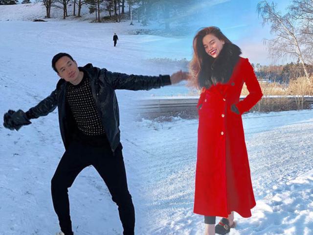 Hồ Ngọc Hà và đại gia đình đến thăm nhà Kim Lý, phải chăng đám cưới sắp diễn ra?