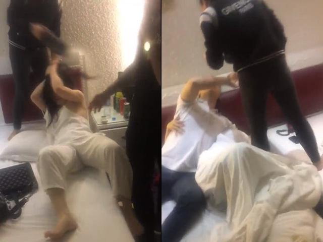 Bị vợ bắt quả tang vào nhà nghỉ cùng 2 hotgirl, phản ứng của chồng khiến ai cũng ngã ngửa