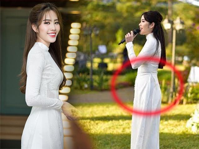 Khoe ảnh diện áo dài xinh đẹp nhưng fans lại soi ra vòng 2 ngấn mỡ của Nam Em