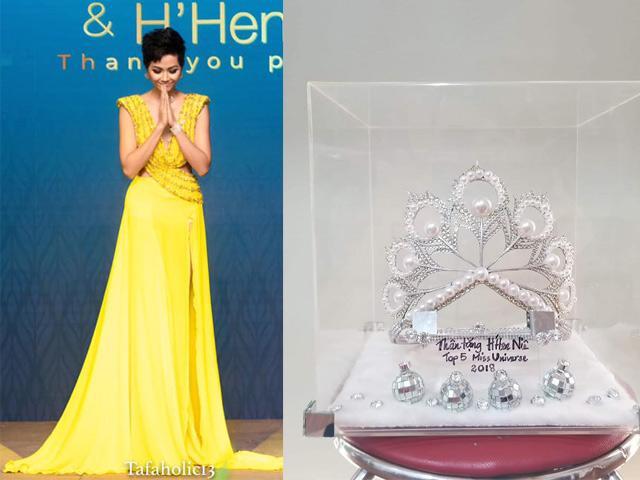 Thi đấu quá xuất sắc, cuối cùng Hoa hậu HHen Niê cũng có thêm một chiếc vương miện
