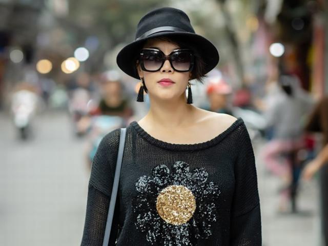 Ca sĩ Thu Phương về Hà Nội, hăng say tập luyện cho đêm nhạc An Thuyên