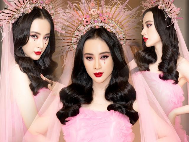 Nữ thần Angela Phương Trinh mê hoặc lòng người với bộ cánh hồng rực rỡ