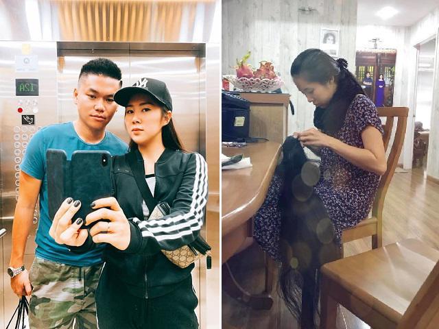 Tình - tiền đều thăng hoa, Lê Phương hạnh phúc cùng chồng trẻ trong căn nhà mới sang trọng