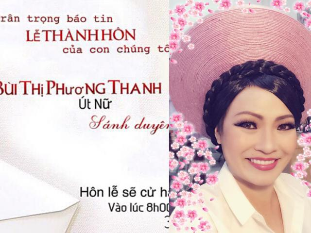 Phương Thanh bất ngờ tuyên bố đám cưới ngày 30.12, giữ bí mật chú rể