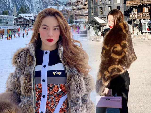 Ngắm BST áo lông xa hoa của Hồ Ngọc Hà, chiếc rẻ nhất có giá 90 triệu đồng
