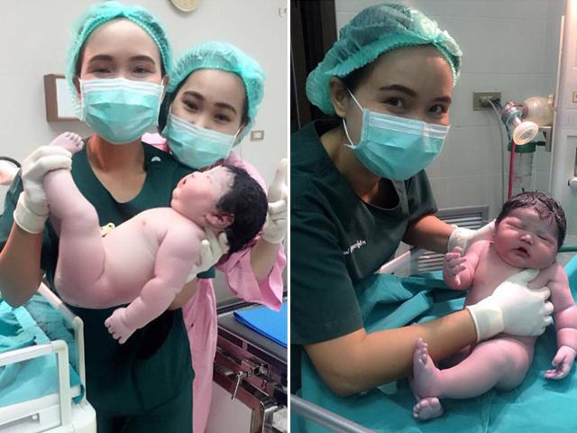 Tiết lộ danh tính bé sơ sinh đẻ thường nặng 5,2kg đang khiến dân mạng ráo riết truy lùng