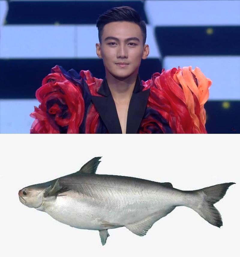 Hình ảnh cá húkhi ngày đầu đặt chân đến The Face của Trung Kiên đã không còn, thay vào đó anh lấy lại vẻ đẹp trai dưới sự hướng dẫn nghiêm túc của siêu mẫu Thanh Hằng.