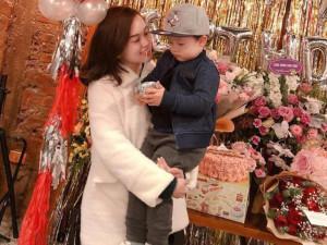 Ly Kute khoe ảnh sinh nhật nhưng dân mạng lại hốt hoảng khi nhìn con trai