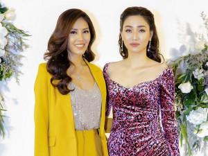 Dàn Hoa hậu, Á hậu nô nức tới chúc mừng Nguyễn Thị Loan tái xuất